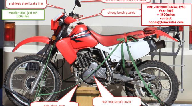 Reward: 500 US$/ Recompensa 8.000 M.N.- Motorrad geklaut / Motorbike stolen  (15.02.2015) La Paz, Baja California, Mexiko