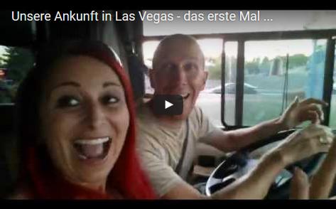 Unsere Ankunft in Las Vegas - das erste Mal mit dem eigenen Auto (Wohnmobil) ;)