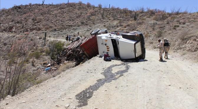 LKW Unfall - Tom wird vom mexikanischen Militär mitgenommen