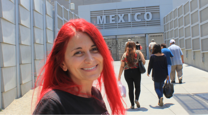 Entgegen aller Warnungen - zu Fuß über die Grenze nach Tijuana (Mexiko)