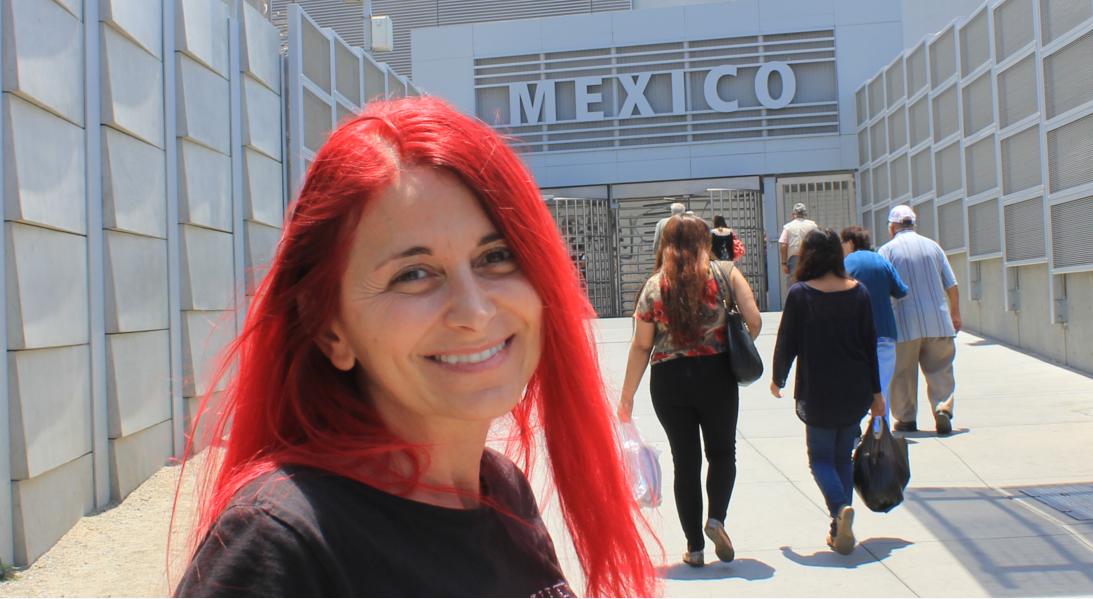 Briefe Nach Mexiko Schicken : Entgegen aller warnungen zu fuß über die grenze nach