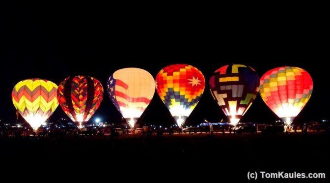 Das weltweit größte Heißluftballon-Festival