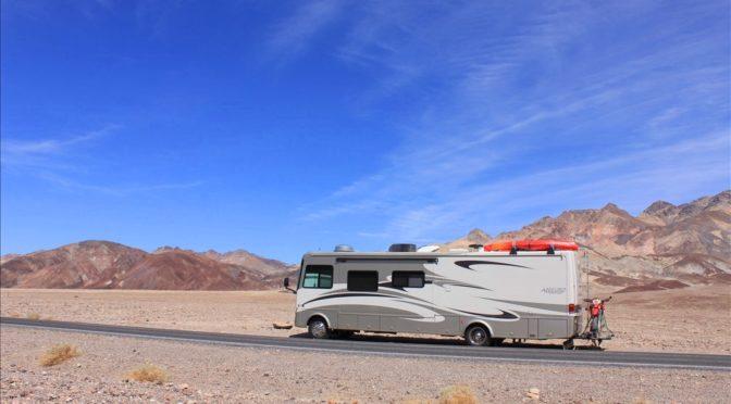 Death Valley (5) - Golfspielen mit dem Teufel, 85 Meter unter dem Meer