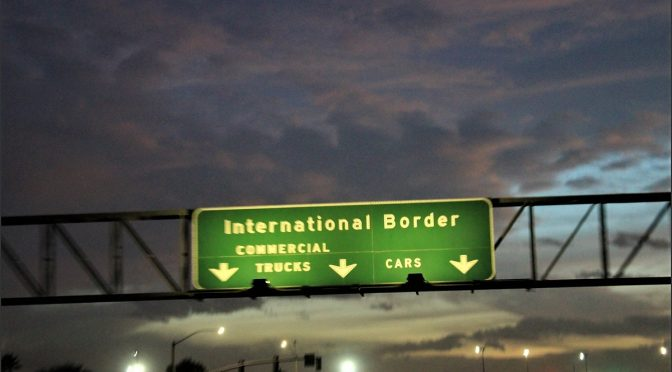 Schock beim Grenzübergang USA-Mexiko
